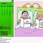 Calendarios Febrero 2015