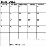 Calendarios blanco y negro – Febrero 2015