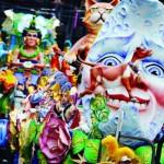 Festejos de carnaval en Colombia