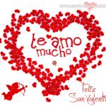 Imágenes postales de San Valentín para mandar a mi amor