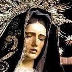 Postales de la Virgen Dolorosa para compartir