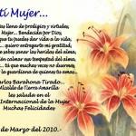 Postales con poemas a la mujer para el 8 de marzo