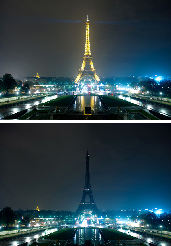 FRANCE-CLIMATE-WARMING-EARTHHOUR
