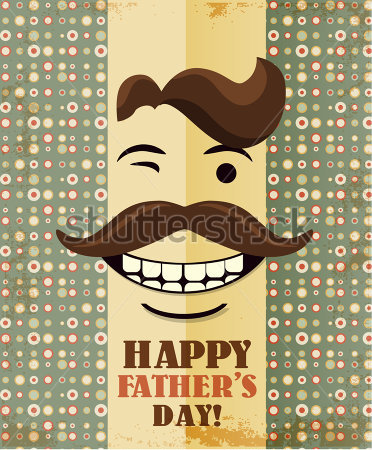 father-s-day-card-in-vintage-hipster-style-retro-poster_193752596