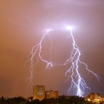 Impresionantes tormentas