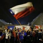 Copa América 2015 – Imágenes de los festejos en Chile