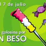 """1° al 7 de julio – Semana de la Dulzura: """"Una golosina por un beso"""""""