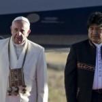 Imágenes de la llegada del Papa Francisco a Bolivia