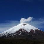 Postales de un volcán en acción
