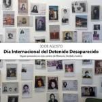 Festejos para conmemorar las Desapariciones Forzadas