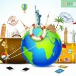 Imagenes postales del Dia Mundial del Turismo