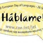 Imagenes postales del Dia Europeo de las Lenguas