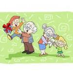 Imagenes postales de abuelitos