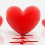 Postales con corazones para compartir en Facebook