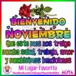Imagenes postales y calendarios del mes de noviembre