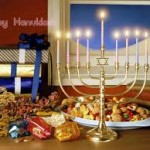 Tarjetas con frases para Hanukkah