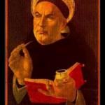 Quienes eran los maestros de Tomas de Aquino?