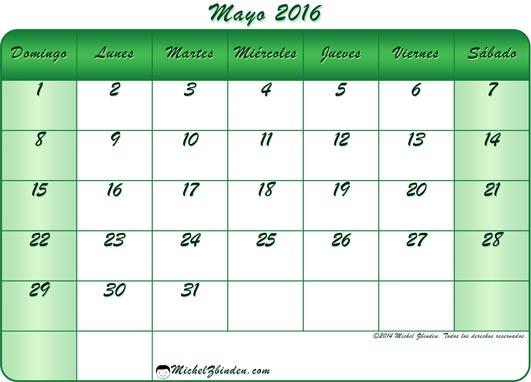 Mayo: un mes de alegría y efemérides