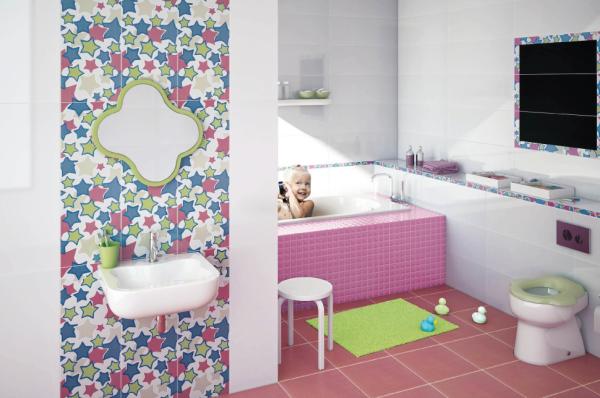 Ideas Faciles Para Decorar El Baño:Hermosas ideas para decorar el cuarto de baño de los niños de la