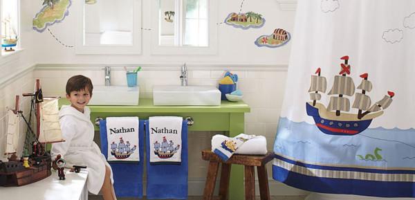 Medidas Baños Jardin De Ninos:Hermosas ideas para decorar el cuarto de baño de los niños de la