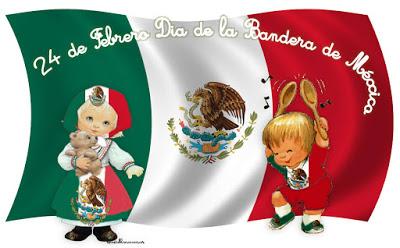 Imgenes del Da de la Bandera de Mxico para compartir  Todo