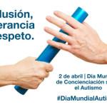 """""""Inclusión, tolerancia y respeto"""" – Lema 2016 del Día  Mundial del Autismo"""