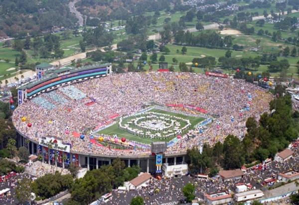copaamericaestadioRose Bowl Stadium, de Los Angeles