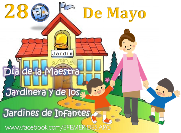 D a de las maestras jardineras argentinas homenaje a for Canciones para el jardin de infantes