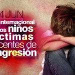 Imágenes del Día Internacional de los Niños Víctimas Inocentes de la Agresión