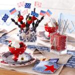 Ideas útiles, fáciles y novedosas para la decoración de la Fiesta del 4 de julio