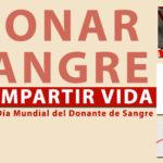 """Día Mundial del Donante de Sangre: """"Donar sangre es compartir la vida"""""""