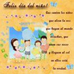 Imágenes divertidas con lindas palabras para dedicar a los niños en su dia