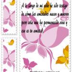 Imágenes lindas con bonitos mensajes y poemas para regalar a tus amigos