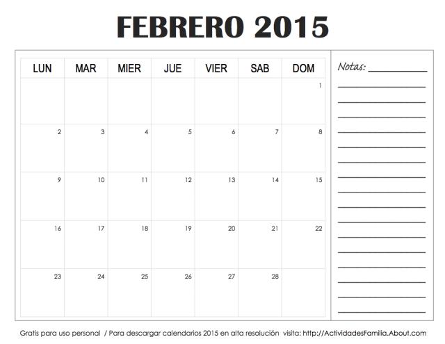 Calendario-Febrero-2015-Notas