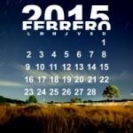 Calendarios mes de Febrero para descargar