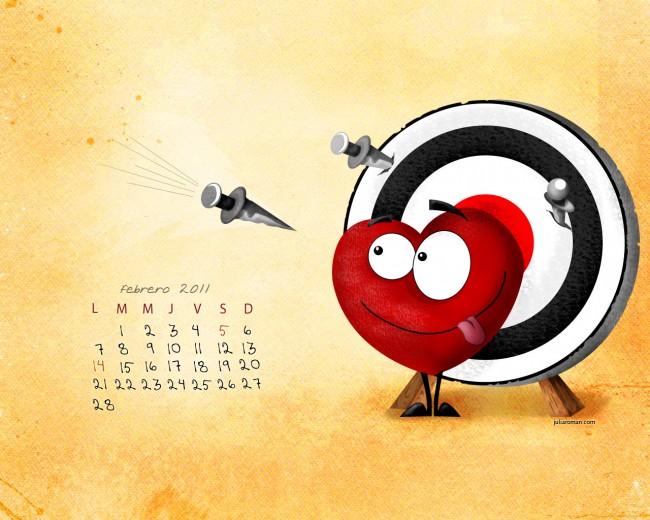 Febrero-wallc-calendar
