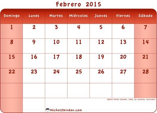 calendario-febrero-2015-rojo-d
