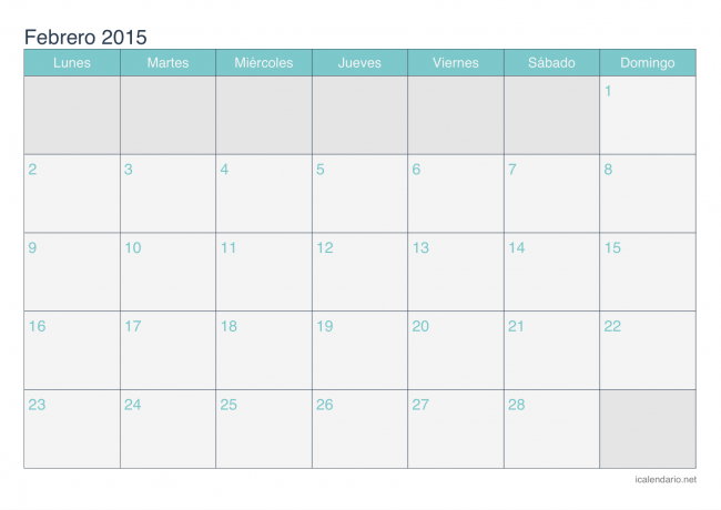 calendario-febrero-2015-turquesa