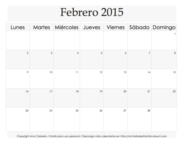 calendario-simple-febrero-2015