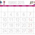 Calendarios 2015 mensuales y anuales