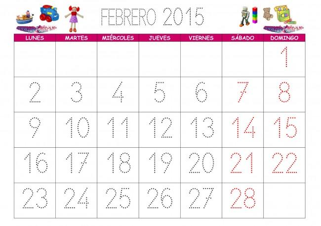 calendario_infantil_febrero_2015
