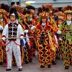 Festejos de carnaval en Republica Dominicana