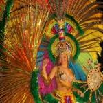 Festejos de carnaval en Paraguay