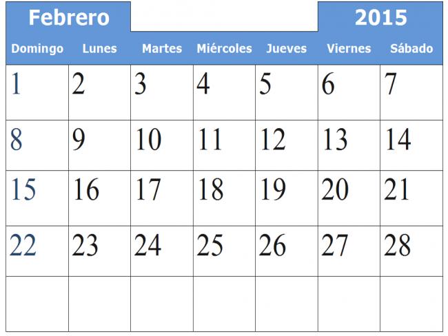 febrero-2015-calendario