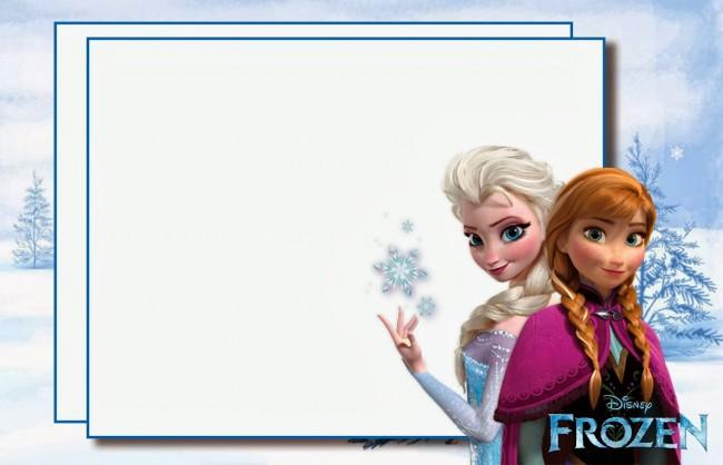 Postales De Frozen Para Invitaciones De Cumpleaños Todo