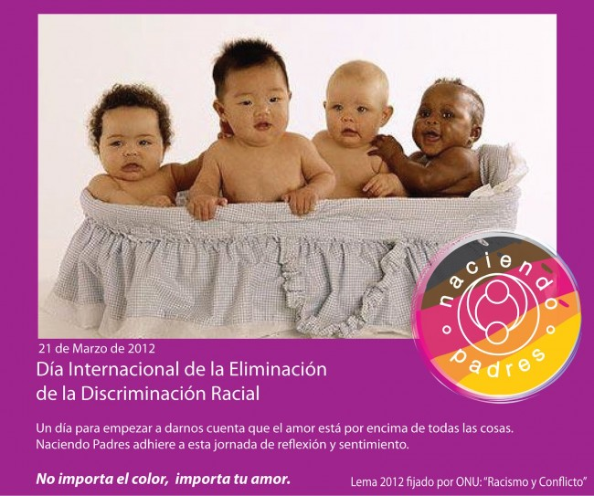 Día del no racismo 2012 Afiche