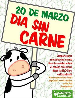 Postales y frases dia mundial sin carne en colombia 20 de marzo 2013 07