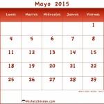 Calendarios gratuitos del mes de mayo 2016 para descargar