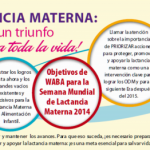 Agosto – Semana de la Lactancia Materna