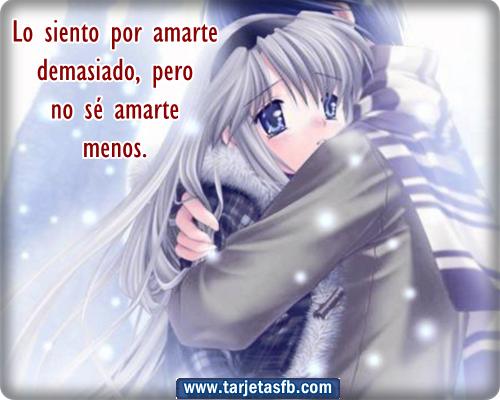 Best Imagenes De Amor De Anime Con Frases Bonitas Image Collection